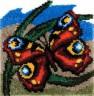 """Набор для вышивки """"Танец бабочки"""" 1 шт. (""""Panna"""" КИ-0881) 45см х 45см"""