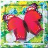 """Набор для творчества в технике объемной аппликации """"Пурпурная бабочка"""" 1 шт. (""""клеvер"""" АБ 41-203)"""