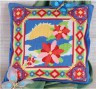 """Набор для вышивки """"Цветущая весна"""" подушка 1 шт. (""""Panna"""" ПД-541) 36см х 36см"""