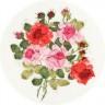 "Набор для вышивки ""Красота роз"" 1 шт. (""Panna"" Ц-1181) 18см х 21см"