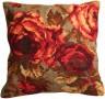 """Набор для вышивки """"Розы"""" подушка 1 шт. (""""Collection D'Art"""" 5113) 40см х 40см"""