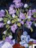 """Набор для вышивки """"Тюльпаны и сирень"""" 1 шт. (""""Dimensions"""" 20067) 41см х 30см"""