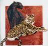 """Набор для вышивки """"Пантера с Леопардом"""" 1 шт. (""""РС студия"""" С-447) 27см х 26см"""