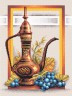 """Набор для вышивки """"Натюрморт с виноградом"""" 1 шт. (""""Panna"""" Н-0294) 28см х 34.5см"""