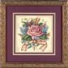 "Набор для вышивки ""Букет роз"" 1 шт. (""Dimensions"" 06995) 15см х 15см"