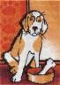 """Набор для вышивки """"Рыжий пес"""" 1 шт. (""""Panna"""" Ж-0636) 9.5см х 14см"""