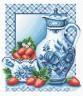 """Набор для вышивки """"Клубника со сливками"""" 1 шт. (""""Panna"""" ГФ-0270) 26см х 28.5см"""