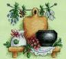 """Набор для вышивки """"Целебные травы"""" 1 шт. (""""Panna"""" Н-0516) 14см х 14см"""