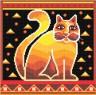 """Набор для вышивки """"Мистический кот"""" 1 шт. (""""Panna"""" Ф-0150) 21.5см х 21.5см"""