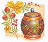 """Набор для вышивки """"Ягодки """" 1 шт. (""""Panna"""" НХ-0312) 25см х 23.5см"""