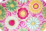 Плюш для игрушек фасовка 1 шт. (Shannon Fabrics RKC POSY PARTY) 48см х 48см полиэстер-100%