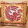 """Набор для вышивки """"Огненная птица"""" подушка 1 шт. (""""Panna"""" ПД-690) 40см х 40см"""