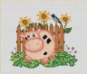 """Набор для вышивки """"Розовый зефир"""" 1 шт. (""""Panna"""" Д-0125) 13см х 11см"""