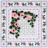 "Набор для вышивки ""Плетистая роза"" 1 шт. (""Panna"" Ц-0554) 26см х 26см"