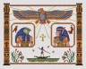 """Набор для вышивки """"Гор и Исида"""" 1 шт. (""""Panna"""" ЕМ-0271) 35см х 27см"""