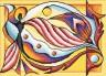 """Набор для вышивки """"Танец солнца"""" 1 шт. (""""Panna"""" Ф-0149) 28.5см х 20.5см"""