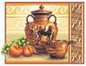 """Набор для вышивки """"Греческие вазы"""" 1 шт. (""""Panna"""" В-0225) 38см х 29см"""