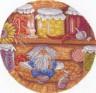"""Набор для вышивки """"Домовой - хранитель очага"""" 1 шт. (""""Panna"""" СО-0938) 24см х 24см"""
