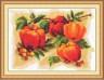 """Набор для вышивки """"Красные яблоки"""" 1 шт. (""""Panna"""" Ф-0670) 29см х 23см"""