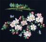 """Набор для вышивки """"Яблоневый цвет"""" 1 шт. (""""Panna"""" ПС-1081) 30см х 30см"""
