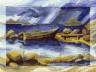 """Набор для вышивки """"Одинокая лодка"""" 1 шт. (""""Panna"""" ПС-0951) 27см х 20см"""