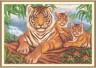 """Набор для вышивки """"Логово тигра"""" 1 шт. (""""Panna"""" Ж-1001) 34см х 23см"""
