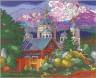 """Набор для вышивки """"Кучевые облака"""" 1 шт. (""""Panna"""" ПС-0756) 52см х 43см"""