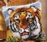 "Набор для вышивки ""Тигр"" (подушка) 1 шт. (""Vervaco"" 2560/3529) 40см х 40см"
