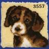 "Набор для вышивки ""Собака"" (подушка) 1 шт. (""Vervaco"" 2560/3557) 40см х 40см"