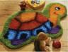 """Набор для вышивки """"Черепашка"""" (ковер) 1 шт. (""""Vervaco"""" 2566/37.060) 70см х 45см"""