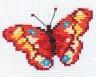 "Набор для вышивки ""Бабочка"" 1 шт. (""Алиса"" 0-43) 10см х 7см"