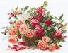 """Набор для вышивки """"Розы"""" 1 шт. (""""Алиса"""" 2-06) 40см х 30см"""