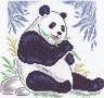 """Набор для вышивки """"Бамбуковый медведь"""" 1 шт. (""""Кларт"""" 8-012) 20см х 21см"""