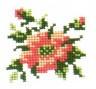 """Набор для вышивки """"Цветок"""" 1 шт. (""""РС студия"""" 533) 8см х 8см"""