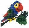 """Набор для вышивки """"Попугай"""" 1 шт. (""""РС студия"""" С-505) 11см х 11см"""