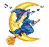 """Набор для вышивки """"Лунная прогулка"""" 1 шт. (""""Чудесная Игла"""" 33-11) 16см х 16см"""