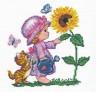 """Набор для вышивки """"Цветок мечты"""" 1 шт. (""""Чудесная Игла"""" 33-04) 16см х 16см"""