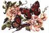 """Набор для вышивки """"Пионы и бабочки"""" 1 шт. (""""Чудесная Игла"""" 42-06) 27см х 20см"""