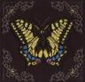 """Набор для вышивки """"Желтая бабочка"""" 1 шт. (""""Кларт"""" 8-114) 19,5см х 19,5см"""