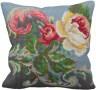 """Набор для вышивки """"Чайная роза"""" подушка 1 шт. (""""Collection D'Art"""" 5126) 40см х 40см"""