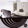 Наклейка для украшения помещений декоративная 3D Круги блистер 5 шт. (01)