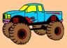 """Набор для раскрашивания цв.песком """"Джип"""" блистер 1 шт. (""""Hobbius"""" KFP/S) 22.5см х 16см"""