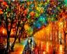 """Набор для раскрашивания акриловыми красками Вечерний променад 1 шт. (""""ФРЕЯ"""" PNB-1-53) 50см х 40см"""