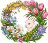 """Кристальная мозаика """"Фрея"""" Цветущая весна коробка 1 шт. (ООО """"ПАННА"""" ALVR-17-051) 34см х 30см"""
