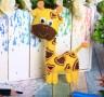 Набор для создания игрушки из фетра Жираф блистер 1 шт. (Школа талантов 2391200) 23.5см х 15.2см х 0.5см 45 гр.