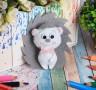 Набор для создания игрушки из фетра Ёжик блистер 1 шт. (Школа талантов 2391197) 23.5см х 15.2см х 0.5см 45 гр.