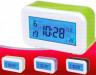 Часы-будильник электронный 1 шт. (3801) 12.5см х 7.5см х 5см 220 гр. пластик
